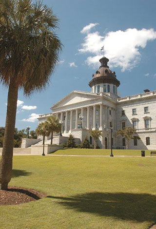 South Carolina State Capital building