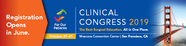 Clinical Congress 2019 Registration Opens in June
