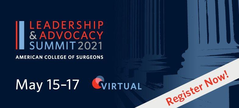 2021 Leadership & Advocacy Summit banner